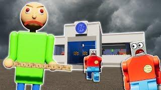 LEGO BALDI ESCAPE SURVIVAL CHALLENGE! - Brick Rigs Gameplay Challenge - Lego Baldi's Basics