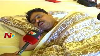 TDP MP CM Ramesh Hunger Strike For Kadapa Steel Plant | CM Ramesh 5th Day Hunger Strike | NTV