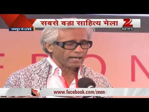 Group CEO ZMCL, Bhaskar Das addresses Zee Jaipur Literature Festival