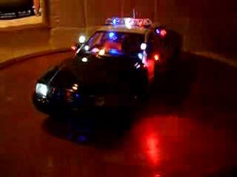 1/18 SFPD San Francisco Police Dept Lights and SIREN