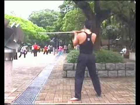 sword attack 発勁No5 Stabbing