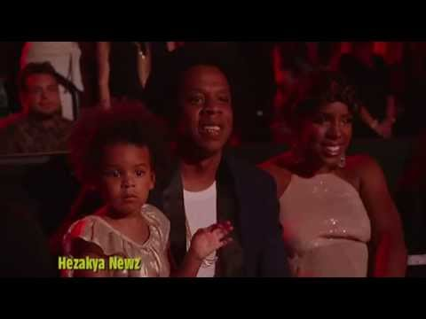 Blue Ivy DANCES With Jay Z and Kelly Rowland During Beyonce's 2014 VMA Performance!!