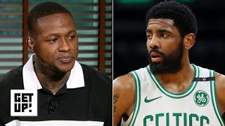 'Very difficult' adjusting to Kyrie, 'don't care where I go' in free agency - Terry Rozier | Get Up!