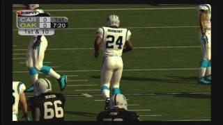 ESPN NFL 2K5 Week 12 Panthers @ Raiders