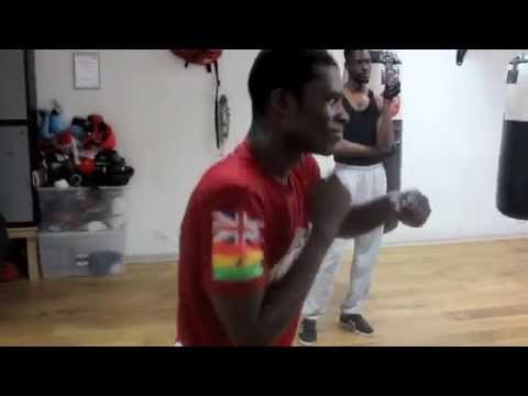 GHANIAN KO SPECIALIST - RICHARD COMMEY SHADOW BOXING @ PRO SW GYM, LOUGHTON 17 - 0 WITH 17 KO' S Image 1
