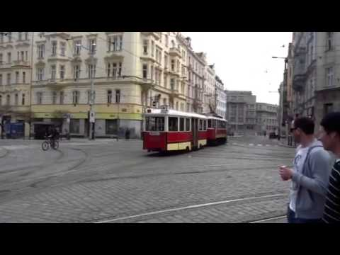 Old tramway in Holesovice, Prague