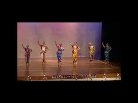Mahishasura Mardini - Bharathanatyam Dance video