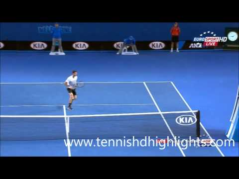 Andy Murray vs Grigor Dimitrov australian Amazing Point open 2015 HD || 25-1-2015