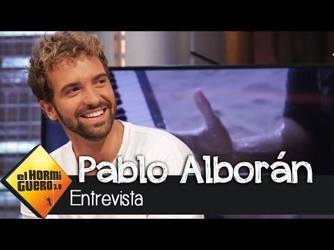 Entrevista a Pablo Alborán en El Hormiguero 3.0
