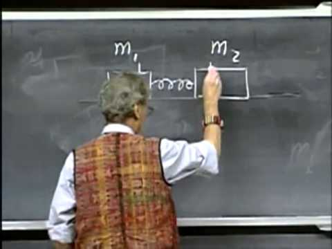 Lec 15: Momentum and Its Conservation | 8.01 Classical Mechanics, Fall 1999 (Walter Lewin)