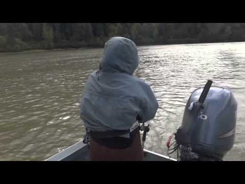 Fishing with Bent Rod- Sturgeon Girl
