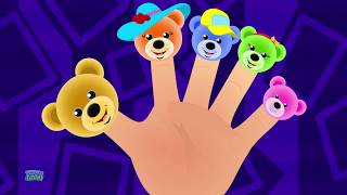 Teddy Bear Finger Family | Nursery Rhymes Songs Kids | Children Rhyme