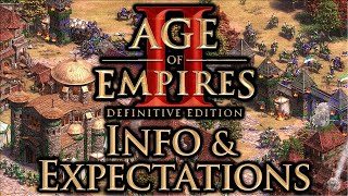 AoE2 Definitive Edition Info & Expectations