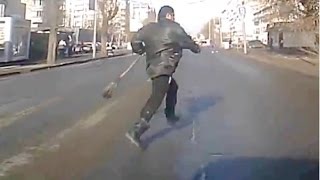 Crazy immortals Russian pedestrians part 3