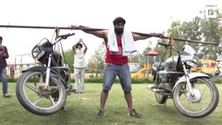 Amazing stunts by Indian   Car stunts in india   Steel man    Amandeep Singh   People are Awesome