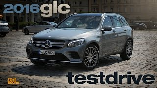 Mercedes GLC Testdrive and Review (German)
