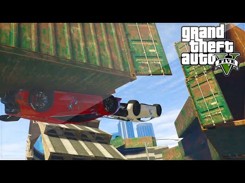 Most Epic Gta Rollercoaster Ever?! (gta 5 Funny Moments) video