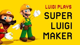 Luigi Plays: SUPER LUIGI MAKERRR (Part 1)