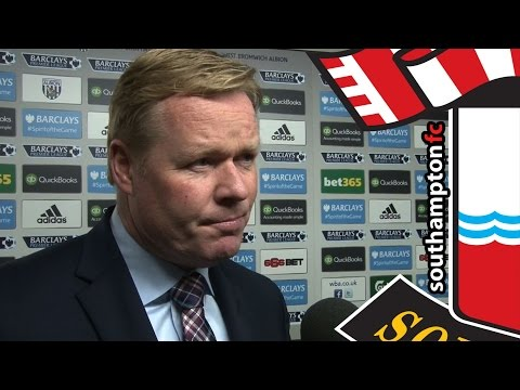 Koeman's verdict on West Brom defeat