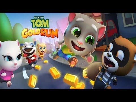 Talking Tom Gold Run [Android/iOS] Gameplay (HD) #1