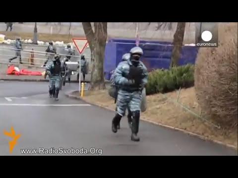 Los francotiradores siembran el caos en Kiev