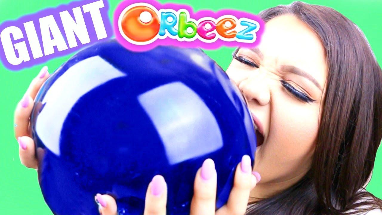 Watch How to Make an Orbeez Stress Ball video