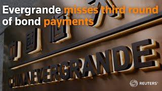 Evergrande misses third round of bond payments