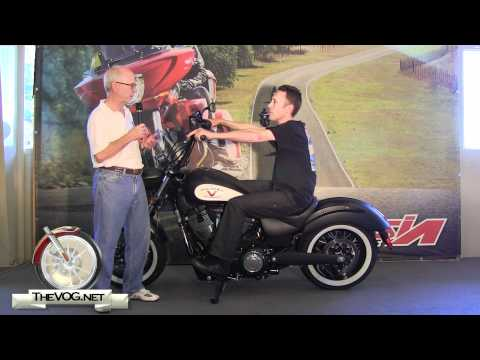 Victory Motorcycles: Adjusting The High-Ball Handlebars For Multiple Riding Positions