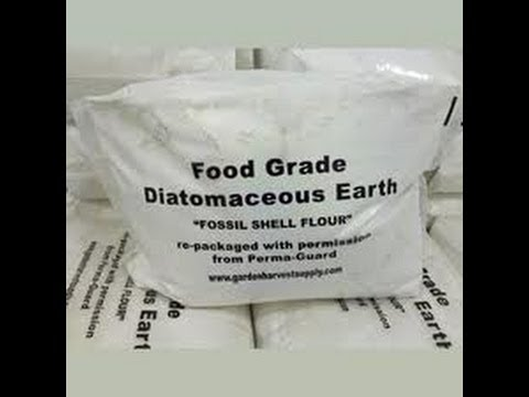 Diatomaceous Earth for Food Storage