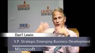 Dan'l Lewin, Corporate VP/Strategic and Emerging Business Development, Microsoft
