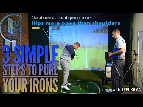 3 SIMPLE STEPS TO PURE YOUR IRONS!