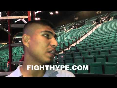 MIKEY GARCIA ON YURIORKIS GAMBOA I CAN PROBABLY DROP HIM MORE THAN ONCE
