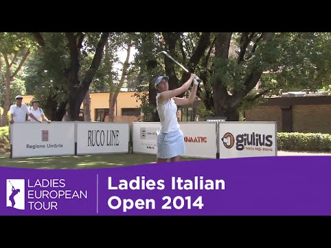 Ladies Italian Open Highlights 2014