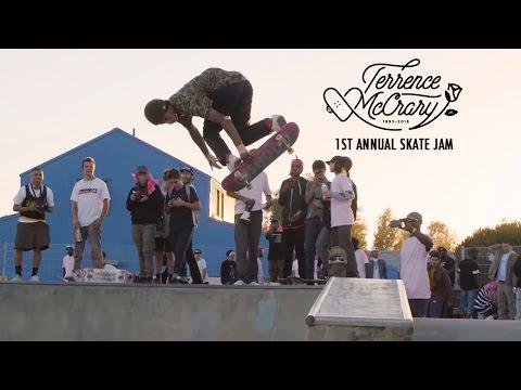 Terrence McCrary : 1st Annual Skate Jam