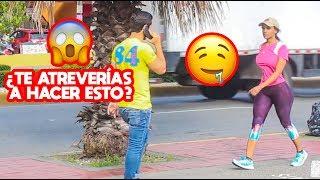 Qué Pasa Si LE DICES ESTO A Una DESCONOCIDA l Videos De Risa l Viral l Bromas