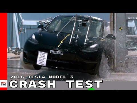 2018 Tesla Model 3 Crash Test