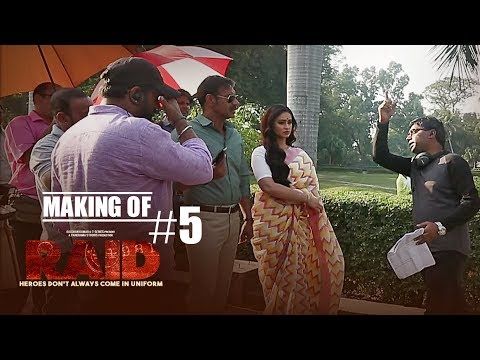 Making of Raid #5 - Fun On Sets | Ajay Devgn | Ileana D'Cruz