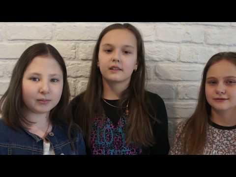 дети сняли крутой рэп про школу на выпускной