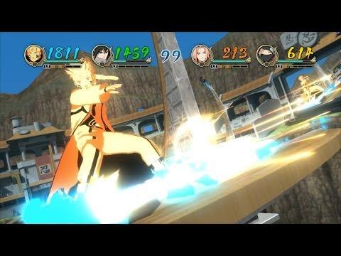 Naruto: Ultimate NInja Storm Revolution - 4 Player Battle Mode