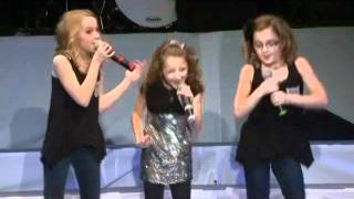 "Avery and The Calico Hearts sing ""Santa Clause is Coming to Town""- Christmas 2011"