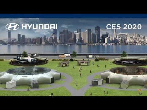 Hyundai at CES 2020 | Our Future Mobility Vision