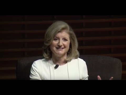 """Arianna Huffington: """"We Are Drowning in Data and Starving for Wisdom"""""""