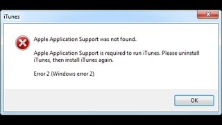 Apple Application Support is required to run iTunes, issue solved, 100% works
