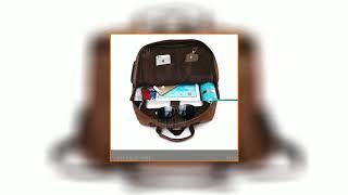 Men Fashion Retro Canvas Travel Backpack