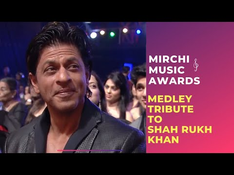 A romantic medley tribute to Shahrukh Khan at the 6th Royal Stag Mirchi Music Awards