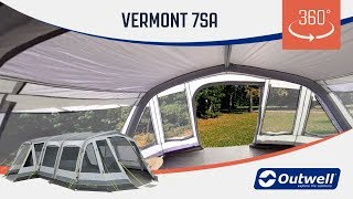 Vermont 7SA Air Tent - 360 Video | Innovative Family Camping