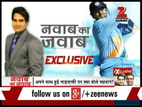 Zee Media exclusive interview with Virender Sehwag