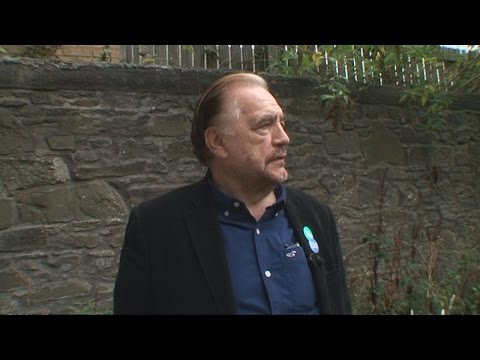 Brian Cox returns to Dundee for yes campaign  | Channel 4 News