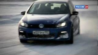 Тест-драйв Volkswagen Golf R 2012 // АвтоВести 40