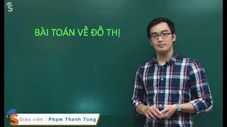 Bài toán về đồ thị - Thầy giáo: Phạm Thanh Tùng (Hóa Lớp 12)